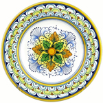 Italian Ceramic Pasta Bowl - TAV N