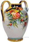 Ceramic Majolica Pitcher Pomegranate 890 42cm