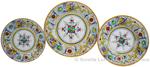 Deruta Italian Ceramic Dinner Place Setting - Raffaellesco with Center