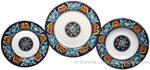 Deruta Italian Ceramic Dinner Place Setting - Ricco Vario 6