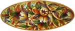 Tuscan Italian Ceramic Oval Platter