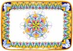 Deruta Italian Ceramic Rectangular Platter