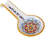 Deruta Italian Ceramic Spoon Rest