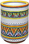 Deruta Italian Ceramic Vase - Ramina