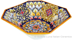 Deruta Eight-Sided Bowl