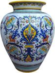 Deruta Floor Vase/Umbrella Stand - Ricco Deruta 60cm