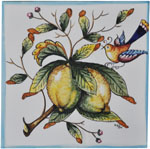 Tile Amalfi Lemon with Bird