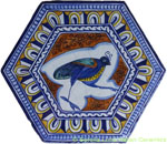 Tile Bologna Hexagonal Bird