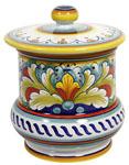 Ceramic Majolica Jar - Corallo