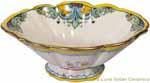 Elegant Pedestal Bowl - D'Oro Gold Bowl