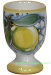 Ceramic Majolica Limoncello Chalice