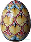Italian Ceramic Decorative Egg