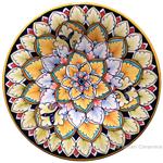 Ceramic Majolica Plate G06 FDL 20cm