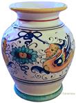 Italian Ceramic Vase Raffaellesco