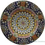 Ceramic Majolica Plate Vario Antico 52cm