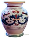 Italian Ceramic Vase Ricco Deruta