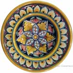 Hanging/Dipping Plate - Spear Flower - 12cm