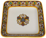 Italian Deep Square Platter - Susana - 30cm