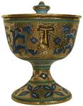 Urn - Pisside Byzantine Oro Gold Cross