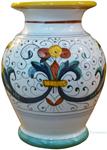 Deruta Italian Ceramic Vase Ricco Deruta